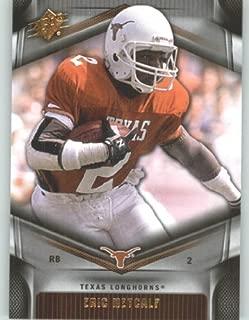 2012 Upper Deck SPx Football Card #16 Eric Metcalf - Texas Longhorns - Cleveland Browns - NFL - NCAA Legend