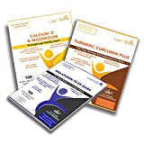 Menopause Relief Bundle - Contains Calcium Magnesium Plus D3 Patches Anti-aging Bone Health, Turmeric Curcumin Anti Inflammatory Patches To Keep You Moving And The Melatonin and GABA Sleep patches to