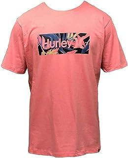 Camiseta Hurley Silk O&O Tropic Rosa
