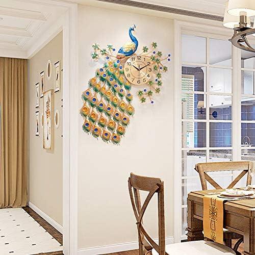 BYMZXBN Wall Clock Crystal 毎日続々入荷 Europea 送料無料激安祭 Decoration Home