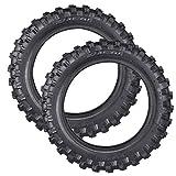 PRO CAKEN 2X Motocross Off-Road DirtBike Tire 2.50-10 Front or Rear Soft/Intermediate Terrain