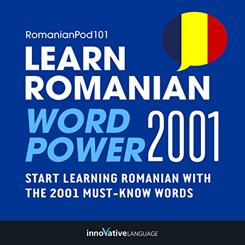 Learn Romanian - Word Power 2001 audiobook cover art
