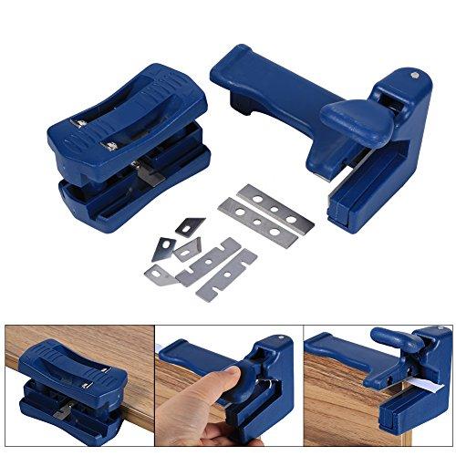 Acogedor Double Edge Laminat Trimmer/Freischneider holzbearbeitungswerkzeuge–Quad Trimmer mit Carbon Stahl Klingen für für Holz Möbel Schrank Manuelle Schwanz Trimmen Holz