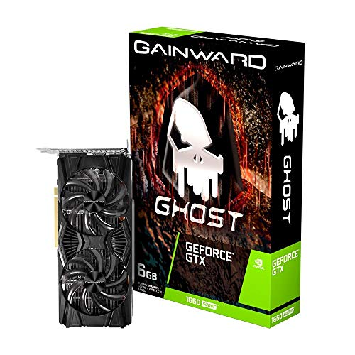 Gainward GeForce GTX 1660 SUPER Ghost 6GB GDDR6 Grafikkarte - DisplayPort/HDMI/DVI