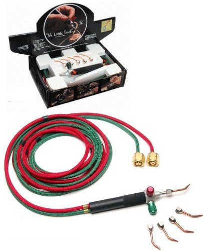 The Little Torch with 5 Tips In a Box- Acetylene