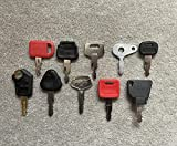 Juego de llaves de 10 piezas para maquinaria agrícola Para máquina excavadora, herramienta de sembrado, volquetes, tractores, rodillos y niveladoras.