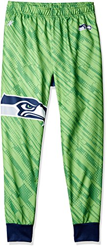 NFL Herren Jogger Hose, Herren, Seattle Seahawks Polyester Mens Jogger Pant Double Extra Large, Seattle Seahawks, XX-Large