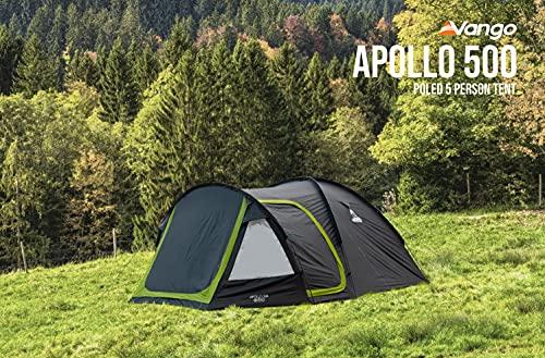 Vango Apollo 500 Dome Tent - 5 Man Tent [Amazon Exclusive]