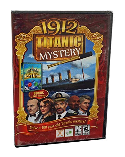 1912 Titanic Mystery PC Game - Solve a 100 year-old Mystery in this Hidden Object Game ALSO Includes Bonus Game NEPTUNIA