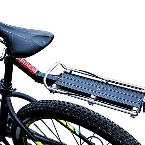 For Sale! GBZZ Bike Carrier Rack Bike Commuter Carrier Rack w/Seatpost Quick Release Universal Rear ...