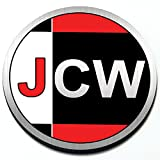 Artistic Reflection JCW John Cooper Works - Magnetic Grill Badge for Mini Cooper