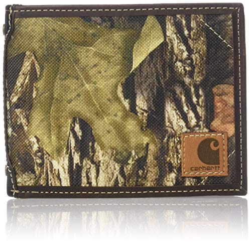 Carhartt Men's Standard Billfold Wallet, Mossy Oak Break-Up Camo, One Size