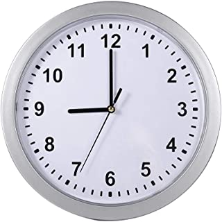 Zetiling Multi-Function Wall Clock with Secret Compartment, Battery Operated Practical Wall Mounted Secret Hide Box, for Money and Jewelry Storage