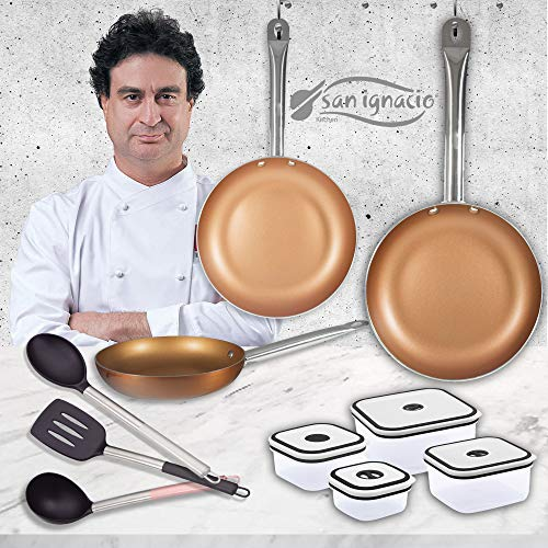 San Ignacio Copper Plus Set 3 sartenes