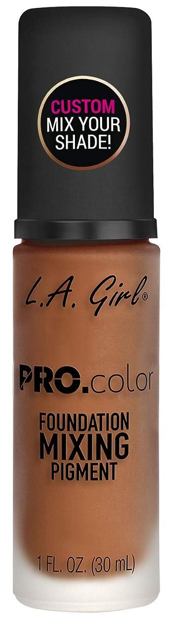 ラウンジ欠席見せますL.A. GIRL Pro Color Foundation Mixing Pigment - Orange (並行輸入品)