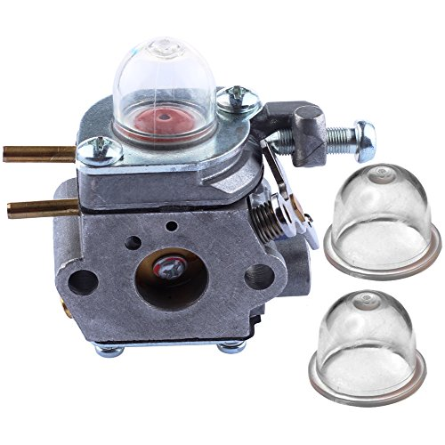 HIPA 753-06190 Carburetor with Primer Bulb for MTD Craftsman Bolens Murray String Trimmer Weed Wacker # WT-973