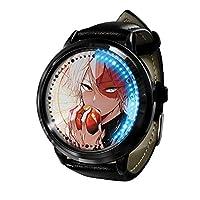 アニメウォッチマイヒーローアカデミア時計LEDタッチスクリーン防水デジタルライト時計腕時計ユニセックスコスプレギフト新しい腕時計子供のための最高のギフト