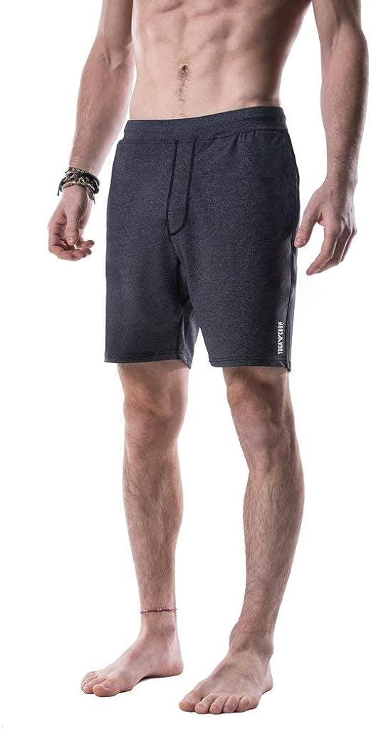 YOGA Max 51% OFF CROW favorite Mens Pocketless Swerve L Shorts Inner w Odor-Resistant