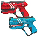 Light Battle Anti-Cheat Lasertag Set - 2X laserpistole (rot, blau) - LBAP10224AC