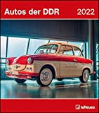 Autos der DDR 2022 - Wand-Kalender - 30x34