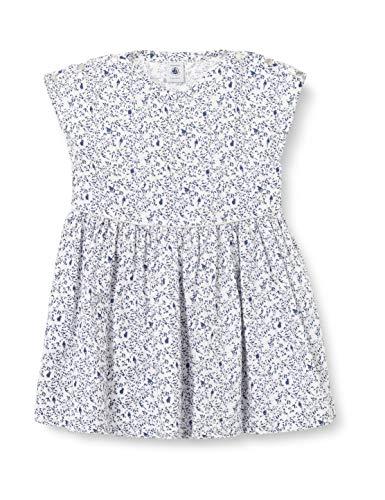 Petit Bateau Baby-Jungen 5962901 Kleid, Marshmallow/Multico, 80