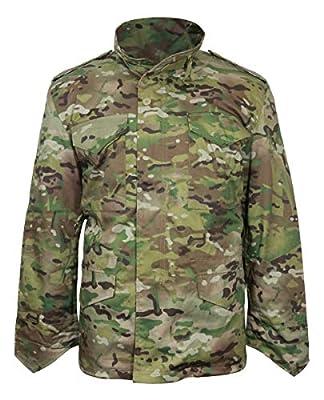 Mil-Tec Men's Classic US M65 Jacket Multitarn size L