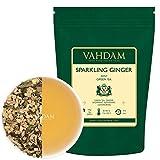 VAHDAM, hojas sueltas de té verde menta espumante...