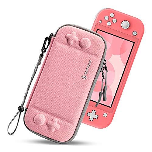 tomtoc Funda Delgada para Nintendo Switch Lite, Patente Original Estuche Rígido con Espacio para 8 Tarjetas de Juegos, Funda...