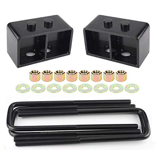 3' Rear Leveling Lift Kit Blocks for f150, 3 Inch Rear Leveling Lift Kit Compatible with 2004-2019...