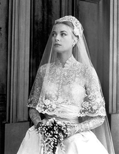 Bucraft Grace Kelly con el vestido de novia de 8 x 10