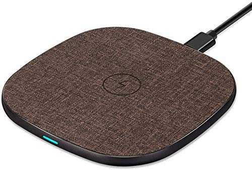 Fast Wireless Charger,Qi Kabelloses Laden Induktive ladestation für iPhone12 11/XR/XS/X/8/8 Plus, Fast Charger Ladegerät für Samsung Galaxy S10+/S10/S10e/Note 9/S9/S9 Plus/Note 8/S8/S7,Huawei P30 Pro