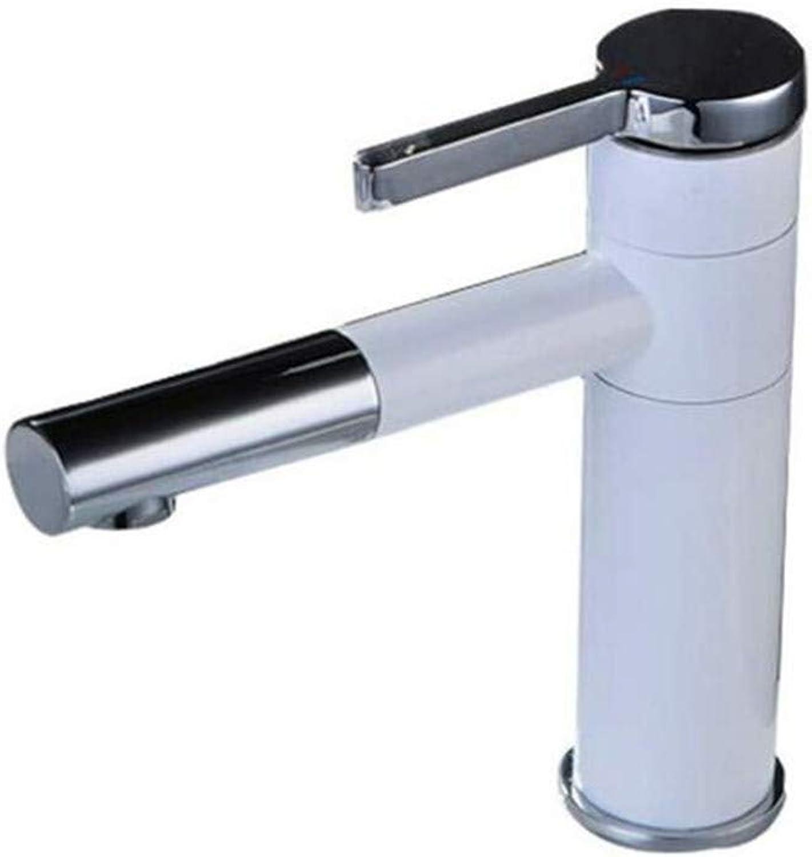 Kitchen Bath Basin Sink Bathroom Taps Kitchen Sink Taps Bathroom Taps Brass Faucet Hot and Cold 360 Degree redating Washbasin Faucet Ctzl7015