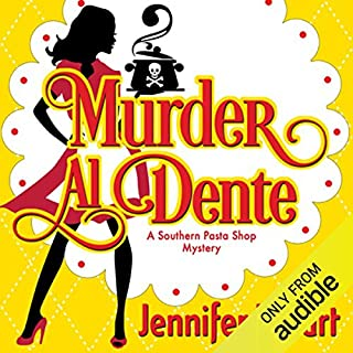 Murder Al Dente audiobook cover art