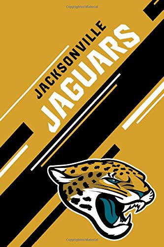 Jacksonville Jaguars: Jacksonville Jaguars Striped Notebook & Journal | NFL Fan Essential | Jacksonville Jaguars Fan Appreciation