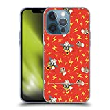 Head Case Designs Officially Licensed Tom and Jerry Brain Boost Patterns Soft Gel Case Compatible with Apple iPhone 13 Pro
