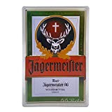66Retro Jagermeister, Retro Embossed Metal Tin Sign, Wall Decorative Sign