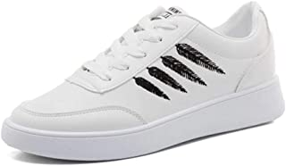 KINDOYO Womens Low Top Trainers - Summer Running Sport Shoes Lace Up Sneaker