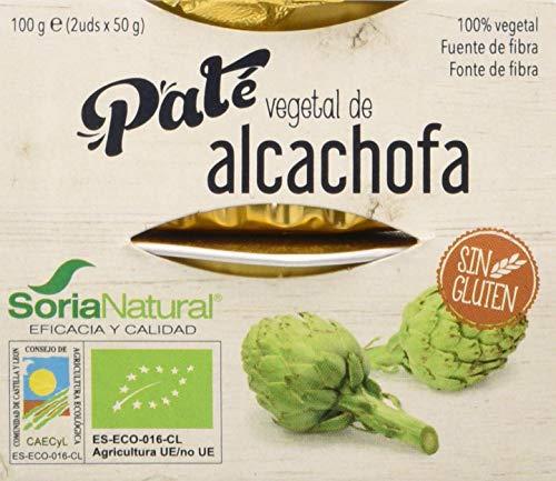 Alecosor Pate Vegetal De Alcachofa Faja 2 Ud X 50 Gr 100 Gramos Alecosor 500 g