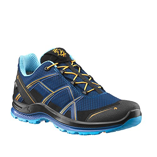 Haix Black Eagle Adventure 2.1 GTX Low/Navy-orange Funktionaler Freizeitschuh mit Gore-TEX. 44