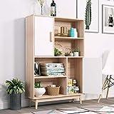 Zoom IMG-1 homfa armadietto legno mobile soggiorno