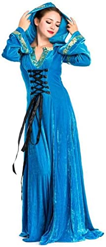 Shisky Cosplay kostüm Damen, Gericht Kostüm Halloween Kostüme mittelalterliche Herrin Kostüm Abendkleid Kostüm