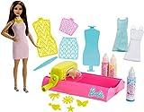 Barbie - Coffret Crayola Diy Jets de Couleurs - Poupée Mannequin, FPW11