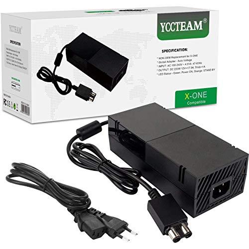 Xbox One Netzteil Brick, AC Ladegerät Netzadapter Wand ladegerät Ersatz Kit für Xbox One Konsole, Weltweit Auto-Spannung 100-240V