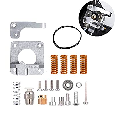 Redrex All Metal Bowden Extruder,Tension Adjustable,with Tube and Stiff Bed-leveling Springs,for Ender 3,Ender 5,CR10 series 3D Printers