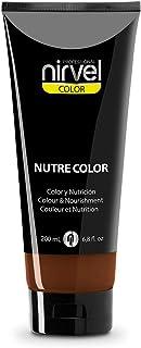 Nirvel NUTRE COLOR Marrón intenso 200 mL Mascarilla Profesional - Coloración temporal - Nutrición y brillo