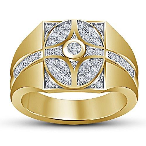 Vorra Fashion Plata fina 925 plata de ley redonda White Cubic Zirconia