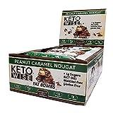 Keto Wise Peanut Caramel Nougat Fat Bombs 34g (Pack of 16)