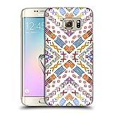Head Case Designs Oficial Monika Strigel Orange Eco Feliz Carcasa rígida Compatible con Samsung Galaxy S7 Edge