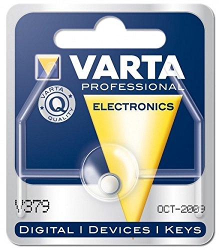 Varta 1.55V V 379Silberoxid 1.55V nicht wiederaufladbare Batterie–nicht wiederaufladbare Batterien (Silberoxid, Knopf/Münze, 1.55V, 1 St, SR63, 14mAh)