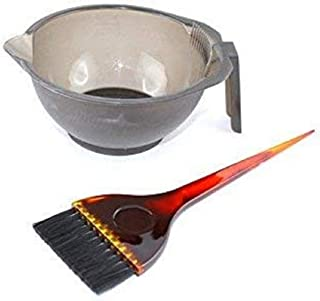 Accessories Hair Colour Dye Bowl with Brush